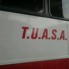 Photo taken at Terminal De Buses TUASA (Alajuela) by Chino L. on 7/22/2012
