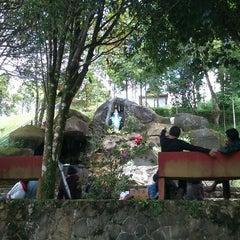 Photo taken at Gua Maria Tawangmangu by Tomy T. on 3/4/2012