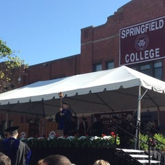 Photo taken at Springfield College by Kay W. on 5/12/2012