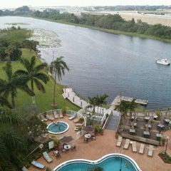 Photo taken at Hilton Palm Beach Airport by Rick K. on 4/12/2012