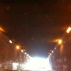 Photo taken at Underpass Pasar Gembrong by Indira S. on 8/21/2012
