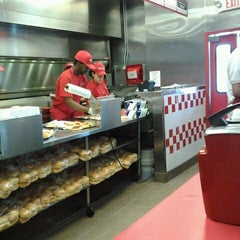 Photo taken at Five Guys by Nadia G. on 5/23/2012