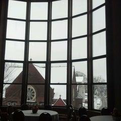 Photo taken at Clark University- Higgins University Center by Cynthia B. on 3/2/2012