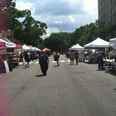 Photo taken at FRESHFARM Market by the White House by Julie S. on 6/14/2012