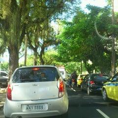 Photo taken at Avenida Epitácio Pessoa by Eneida M. on 4/18/2012