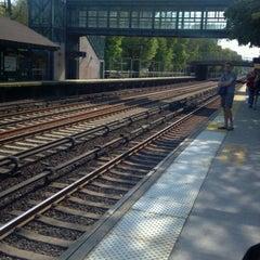 Photo taken at Metro North - Botanical Garden Train Station by John > P. on 4/21/2012