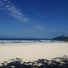 Photo taken at Lopes Mendes by gabriel s. on 4/18/2012