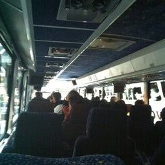Photo taken at EWR Airport Express Bus by Eduardo P. on 6/29/2012