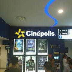 Photo taken at Cinépolis by Carlos R. on 9/9/2012