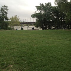 Photo taken at White Rock Lake Dog Park by Scott H. on 8/26/2012