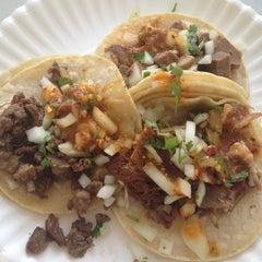 Photo taken at Tacos El Asadero by Megan K. on 5/5/2012