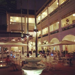 Photo taken at Raffles Hotel by Ben F. on 8/26/2012