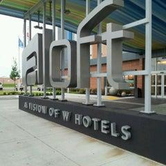 Photo taken at Aloft Tulsa by Rayy L. on 4/29/2012