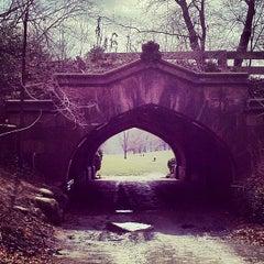 Photo taken at Endale Arch - Prospect Park by Joe G. on 3/3/2012