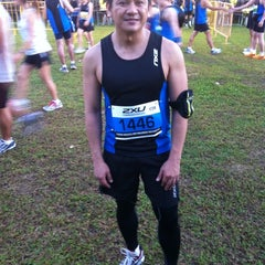 Photo taken at 2XU Compression Run 2012 by Reymund N. on 3/31/2012