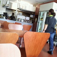 Photo taken at Smiley Thai Revesby by Patrick H. on 4/3/2012