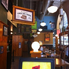 Photo taken at Potbelly Sandwich Shop by Johanna H. on 6/2/2012