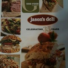 Photo taken at Jason's Deli by Mia G. on 2/26/2012