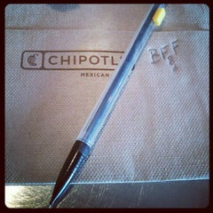 Photo taken at Chipotle Mexican Grill by Donald B. on 4/15/2012