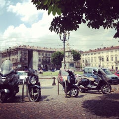 Photo taken at Piazza Carlina by Giuliano A. on 7/6/2012