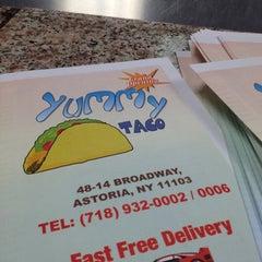 Photo taken at Yummy Taco by Carolyne C. on 6/26/2012