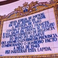 Photo taken at Igreja de Nossa Senhora do Carmo by Eduardo Castro on 7/24/2012