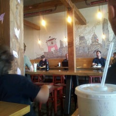Photo taken at Zen Japanese Food Fast by Claudia G. on 7/29/2012