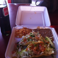 Photo taken at El Rodeo Mexican Food by Mark J. on 4/28/2012