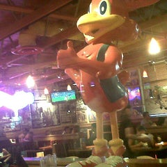 Photo taken at Red Robin Gourmet Burgers by Anthony S. on 8/16/2012