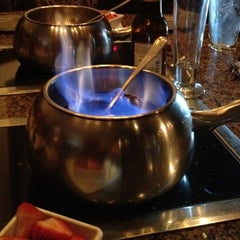 Photo taken at The Melting Pot by Evelyn H. on 6/7/2012