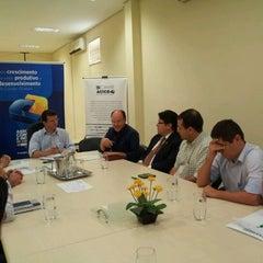 Photo taken at FAEMS - Federação das Associações Empresariais de MS by João P. on 2/27/2012