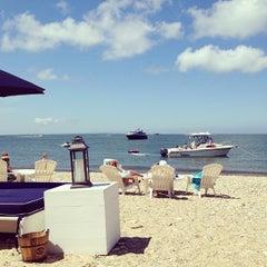 Photo taken at Navy Beach Restaurant by Amanda L. on 8/26/2012