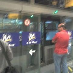 Photo taken at Estación 2 de Mayo - Metropolitano by Miguel M. on 2/24/2012