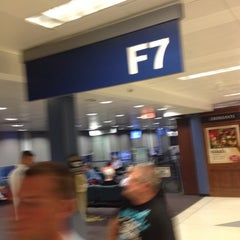 Photo taken at Gate F7A by George T. on 8/31/2012