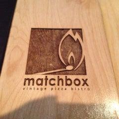 Photo taken at Matchbox Vintage Pizza Bistro by Shailesh G. on 4/22/2012