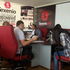 Photo taken at Sexenio HQ by Mauricio C. on 8/15/2012