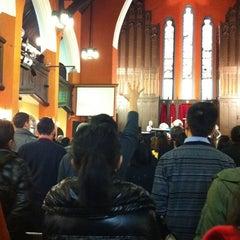 Photo taken at 国际礼拜堂 | Shanghai Community Fellowship by Blessing W. on 2/19/2012