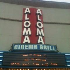Photo taken at Aloma Cinema Grill by Kristi B. on 6/9/2012