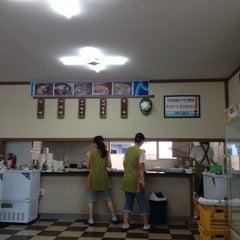 Photo taken at 관촌밀면 by narm on 7/27/2012