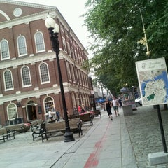 Photo taken at The Freedom Trail by Олег Г. on 7/26/2012