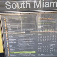 Photo taken at MDT Metrorail - South Miami Station by Stefano L. on 4/22/2012