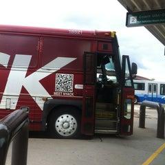 Photo taken at Newark-Liberty Airport Express Shuttle by Suzana U. on 7/29/2012