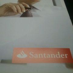 Photo taken at Banco Santander by Emmanuel V. on 6/4/2012