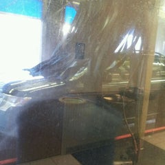 Photo taken at Autobell Car Wash by Tia B. on 2/13/2012