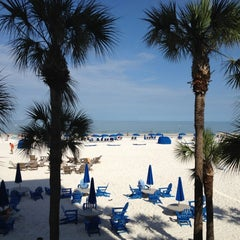 Photo taken at Clearwater Beach by Kevin K. on 7/10/2012