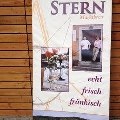 Photo taken at Michels Stern Hotel Markbreit by Luiz A. on 7/18/2012