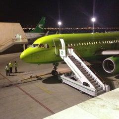 Photo taken at Saparmurat Turkmenbashi International Airport (ASB) by Sergey N. on 6/30/2012