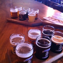 Photo taken at Dry Dock Brewing Company - South Dock by K Q. on 9/9/2012