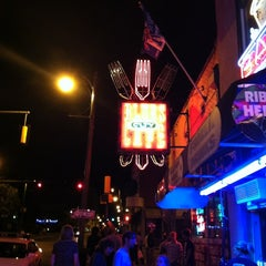 Photo taken at Blues City Cafe by Robin N. on 4/2/2012