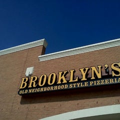 Photo taken at Brooklyn's Old Neighborhood Style Pizzeria by Kyle S. on 2/19/2012